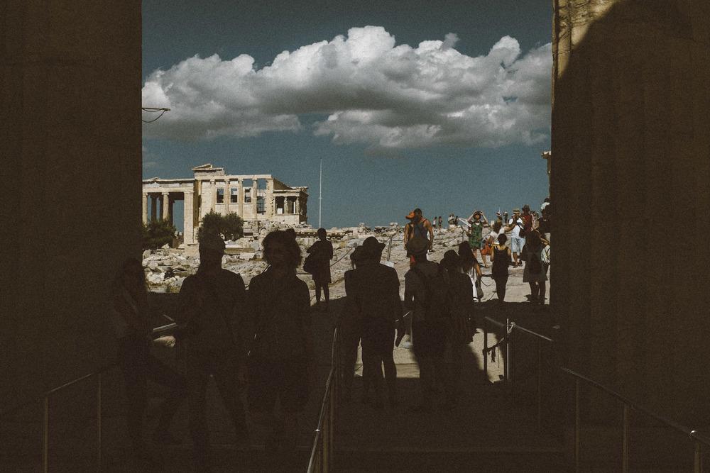 Clouds above Acropolis