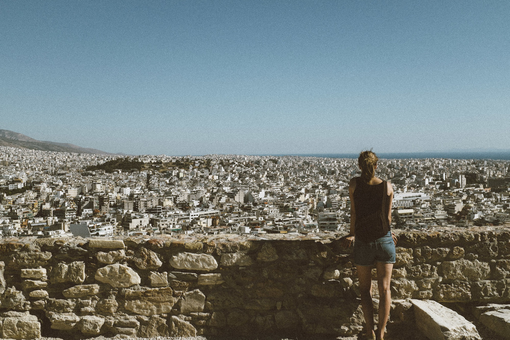 A View of Athens from Acropolis