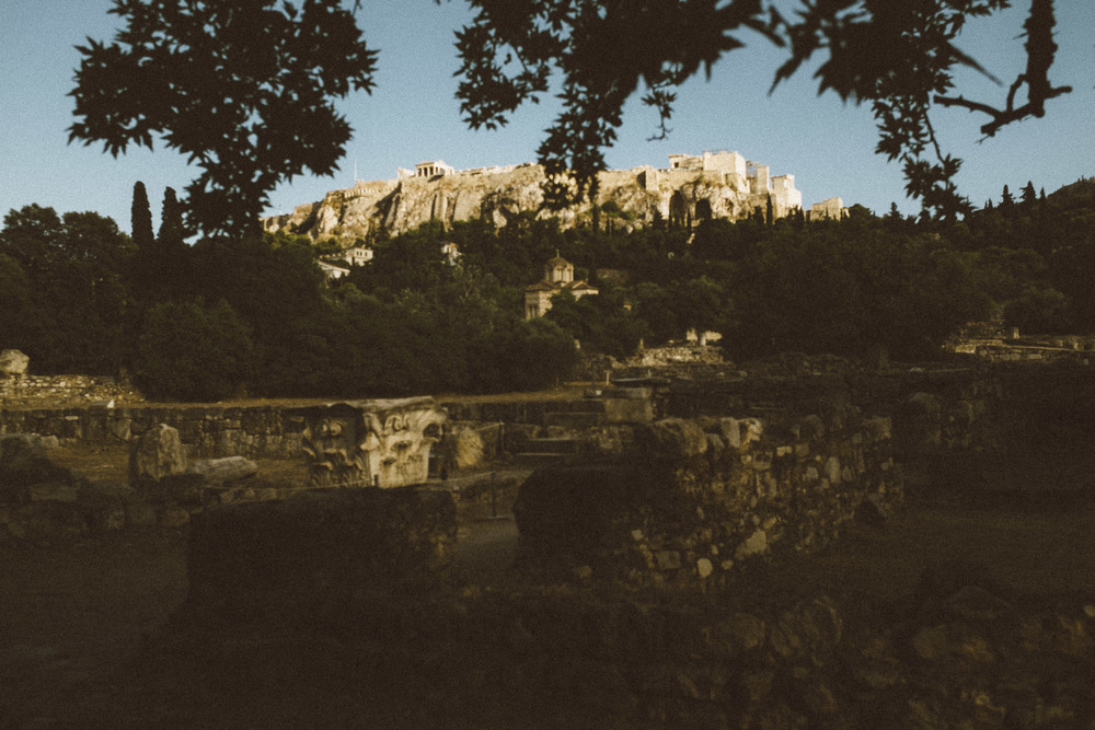 Light love Acropolis