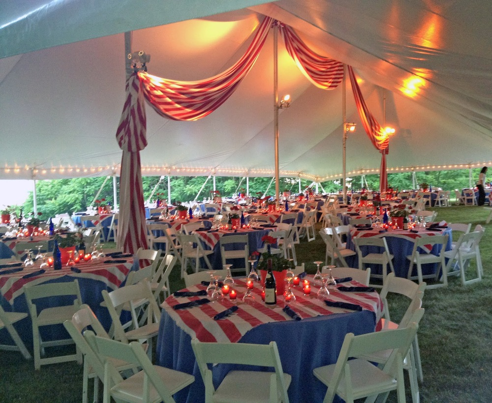 Event design, decor and installation for The Thomas Cole Historic Site benefit, Catskill NY.