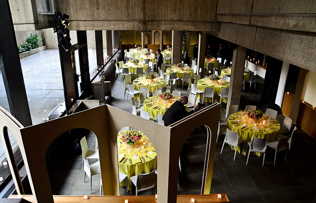 Event design, decor and installation for The Whitney Museum of American celebrating an exhibition by Lyonel Feininger.