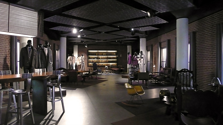 Hugo Boss: showroom