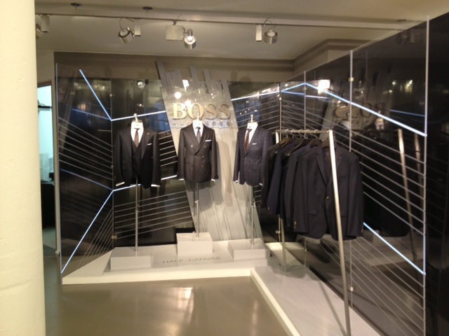Hugo Boss: Market Week/Showroom installation.