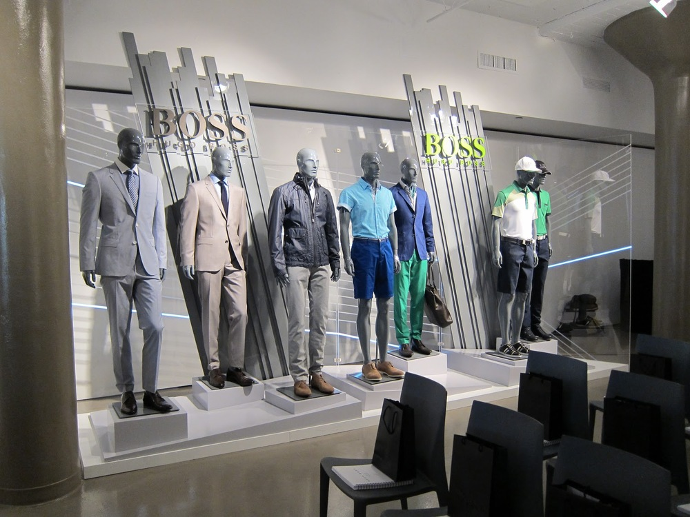 Hugo Boss: Market Week.