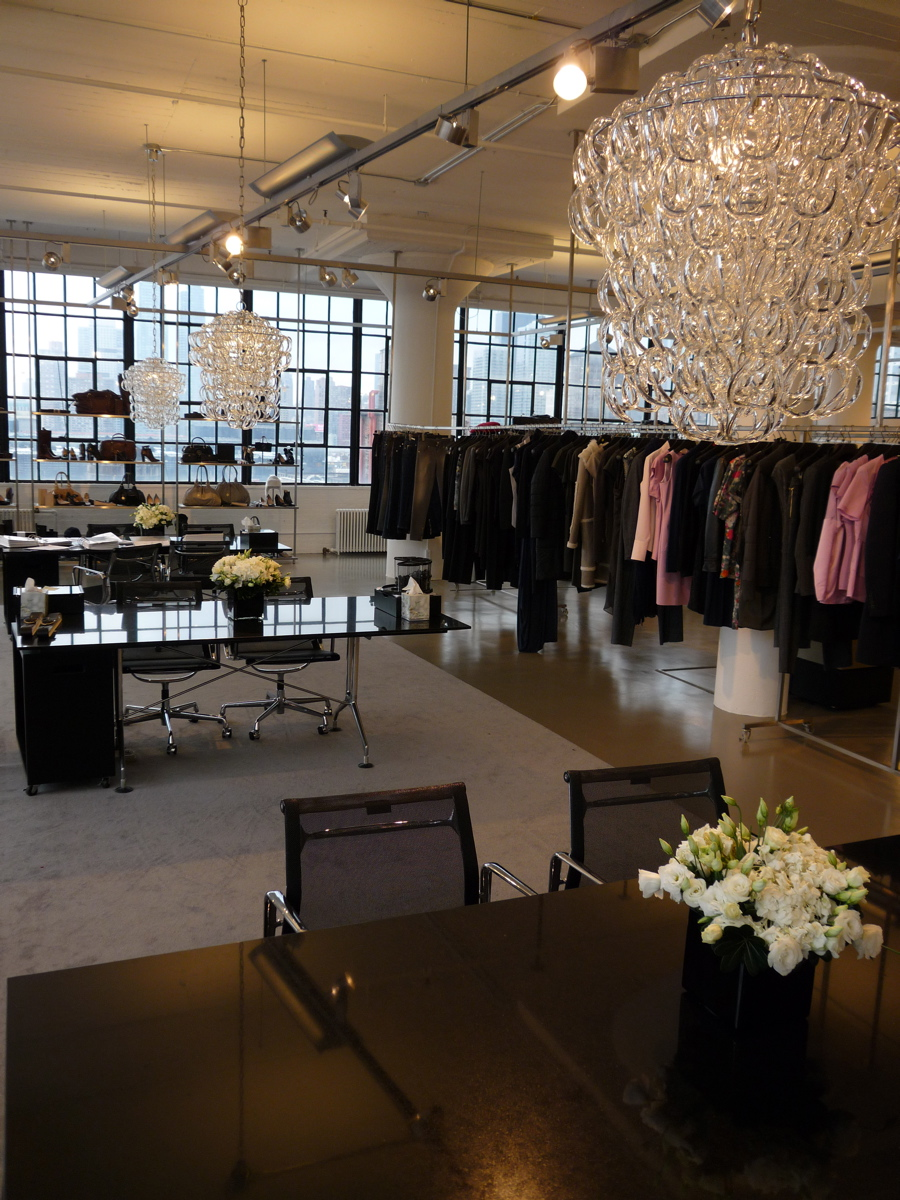 Hugo Boss: showroom.