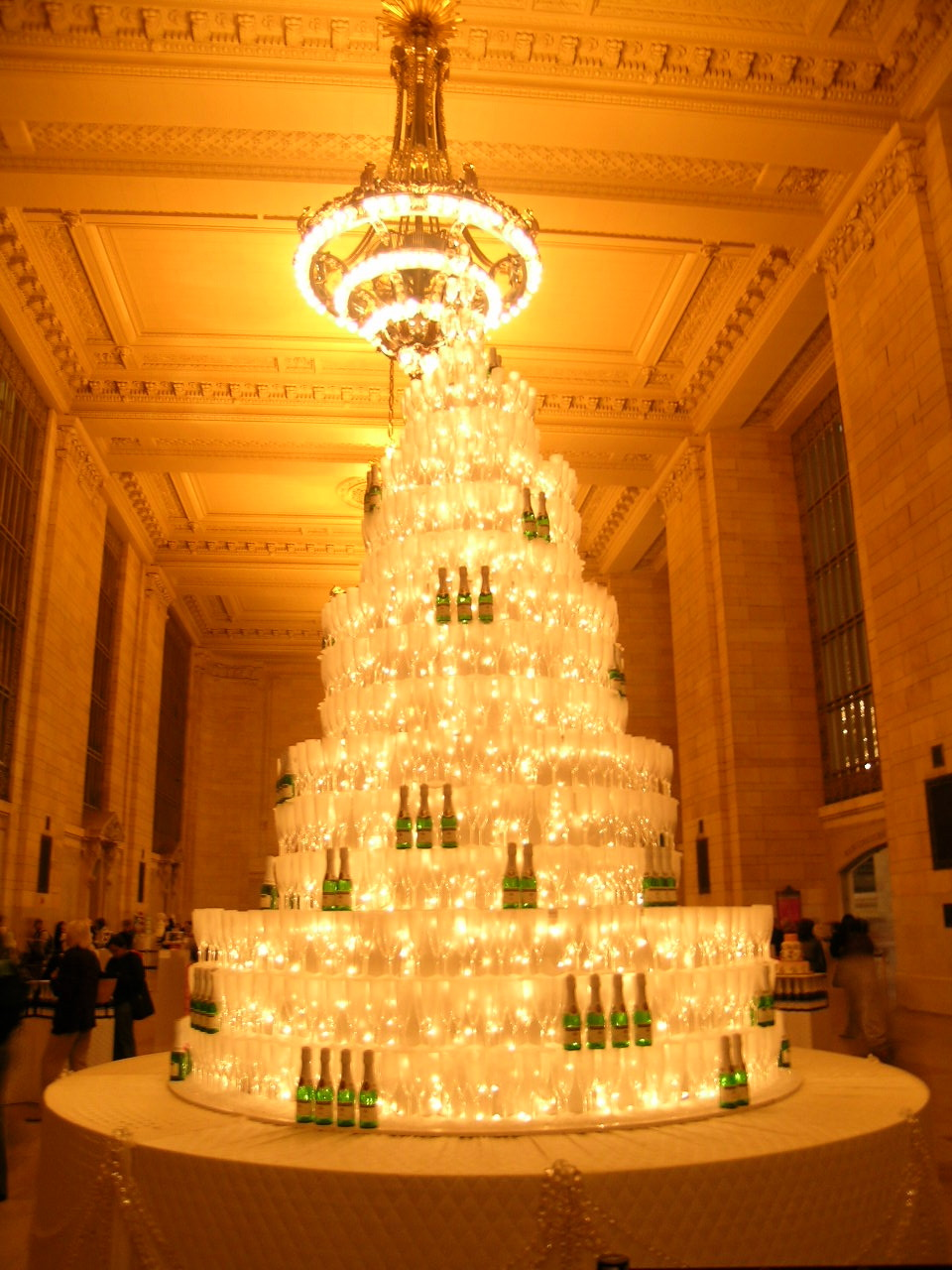 Event decor for Brides Magazine at Grand Central station, NYC.