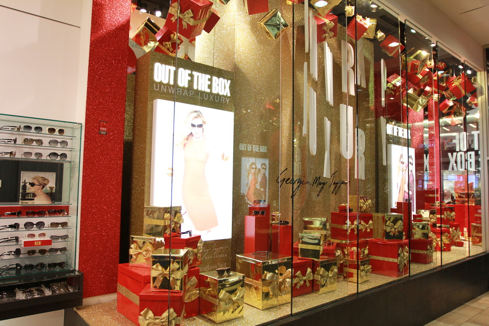 Light boxes and gift boxes produced and installed for Sunglass Hut.
