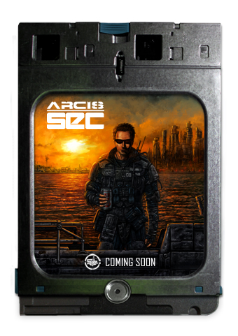ARCIS SEC An Illustrated book, set amongst the violence and corruptionof the Arcis security forces— coming soon