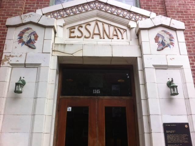 Present day Essanay entrance