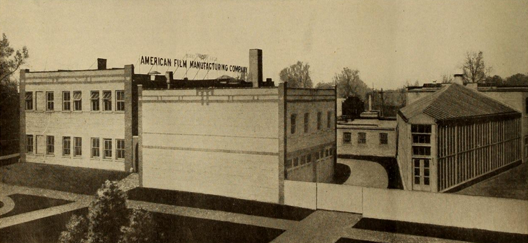 American Film Manufacturing Company Chicago plant