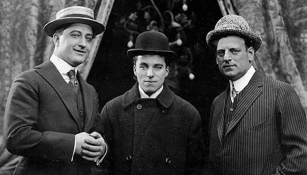 Francis X. Bushman, Charlie Chaplin, G.M. Anderson