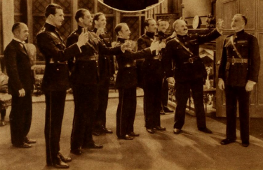 "Richard Travers in ""The Green Ghost"" (3rd from right)"
