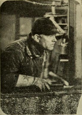Lon Chaney in 'Thunder'