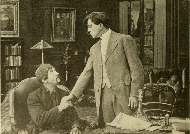 "Scene from ""Out of the Night"""