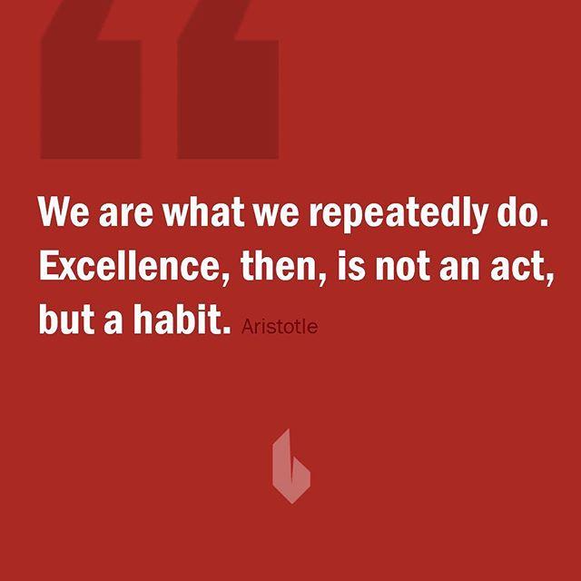 Make good habits. #inspiration #quote