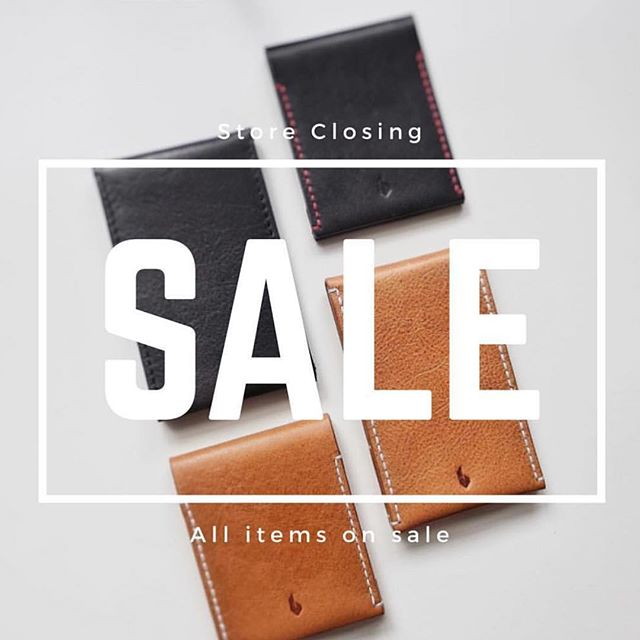 All wallets on sale! Perfect time for holiday gifts...just saying. #minimalist #wallet #sale