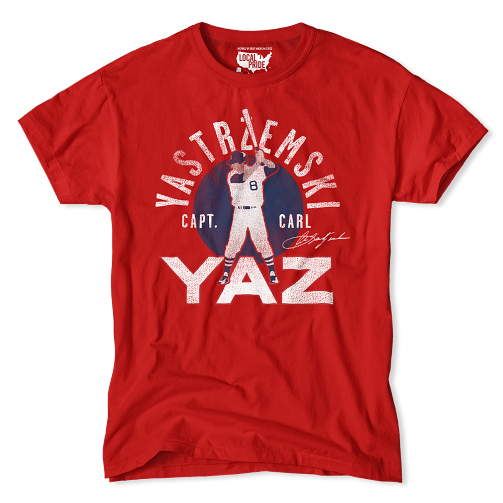 Yaz for Target Local Pride. Go Sox!