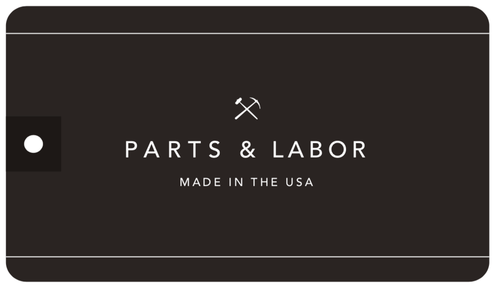Branding Art Direction Logo Design Production   Parts & Labor
