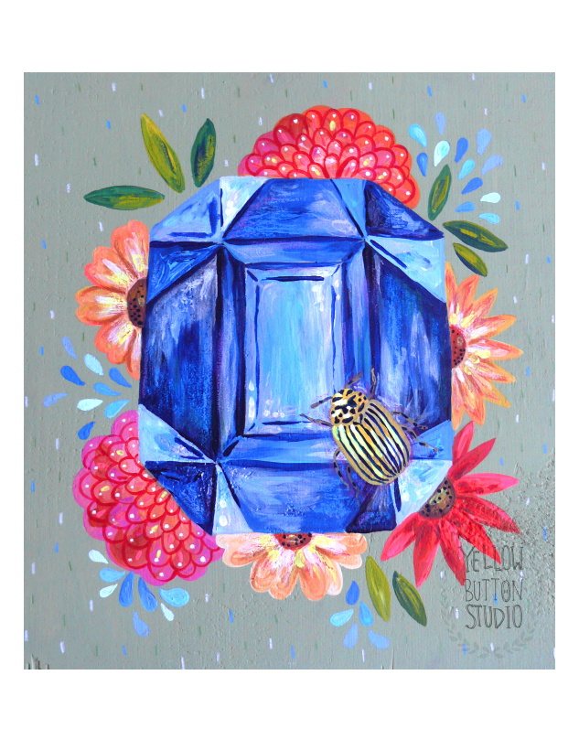 I just listed a few new paintings in my  etsy  shop! Check them out :)