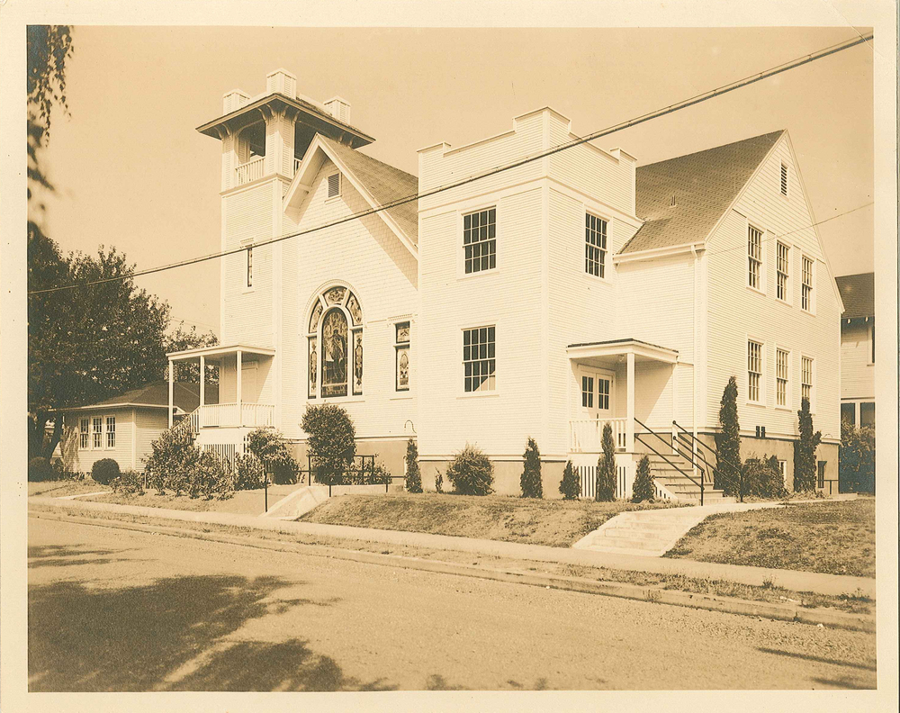 church building, 1947