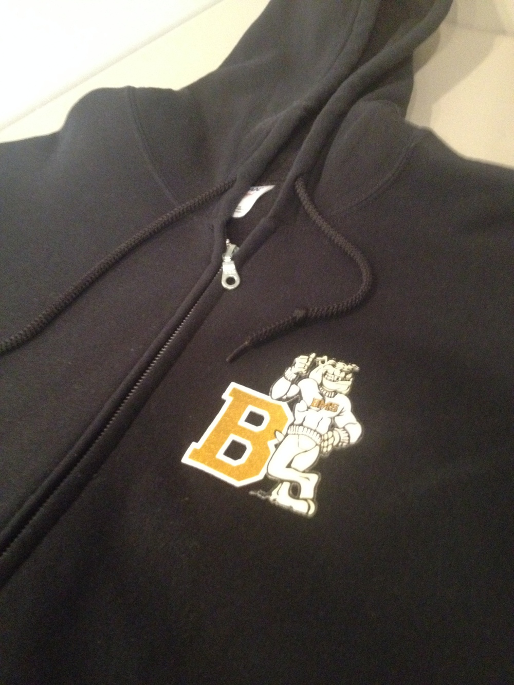 Zip Hoodie for Beveridge Magnet School