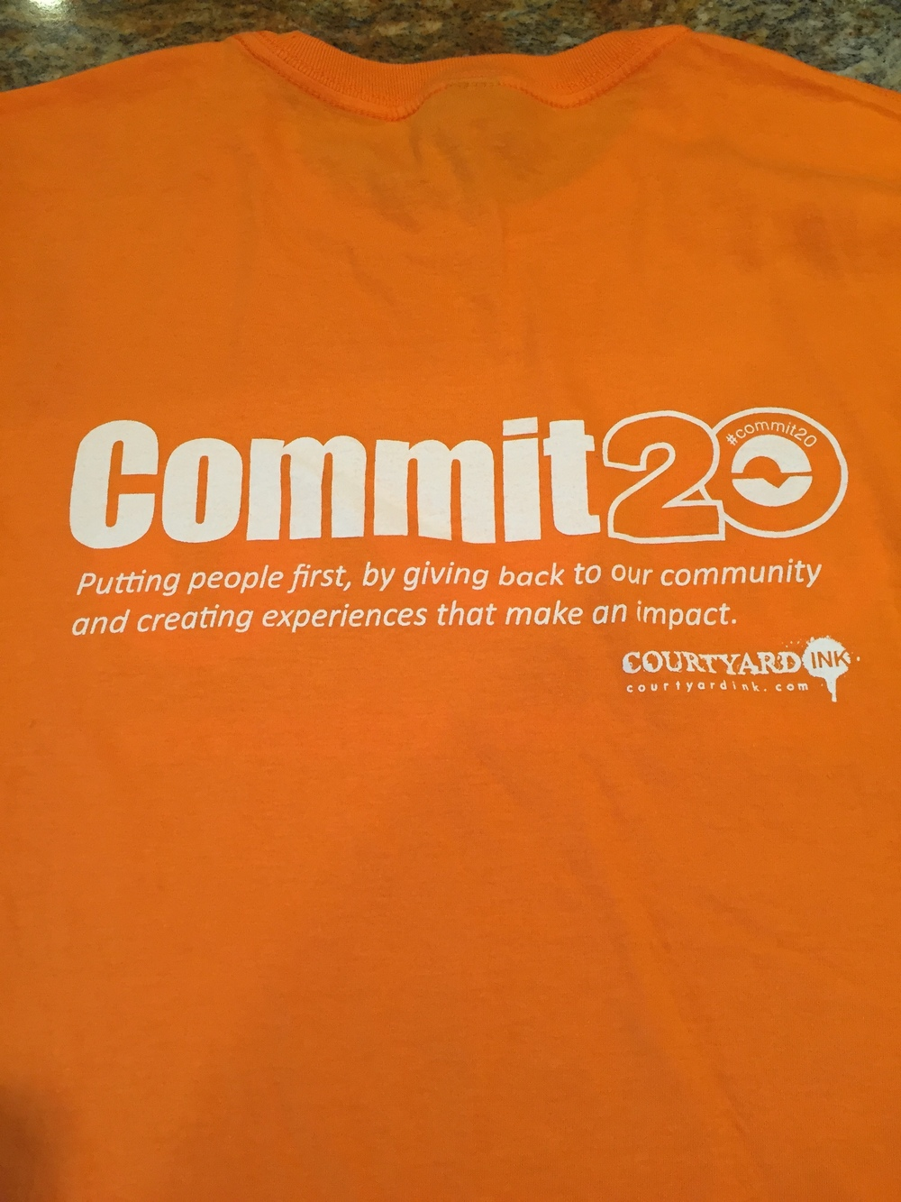 #tshirts #omaha #screenprinting #volunteer #commit20 #embroidery