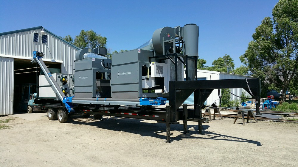 Portable Feed Mill : Portable grain cleaners — s p customs
