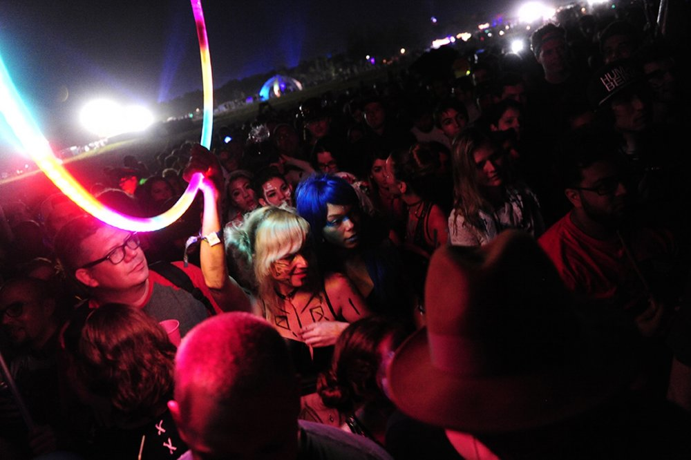 About 30,000 people descend on Okeechobee for the Okeechobee Music Festival from March 4-6 to see headliners such as Mumford & Sons, Skrillex, Kendrick Lamar, Robert Plant and Hall & Oates. (Daniel Owen / The Palm Beach Post)
