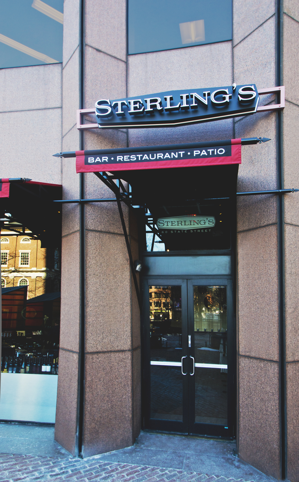 sterlings outside entrance .JPG