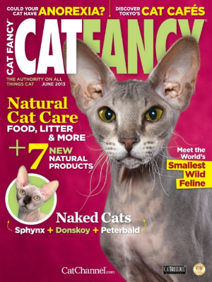 Our subscription to this magazine was a wedding present.  What newly married couple doesn't need to know if their cat has anorexia.  Spoiler alert, ours don't.