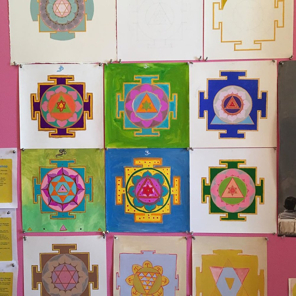 Yantra Meditation Workshop   June 23, 1-5pm