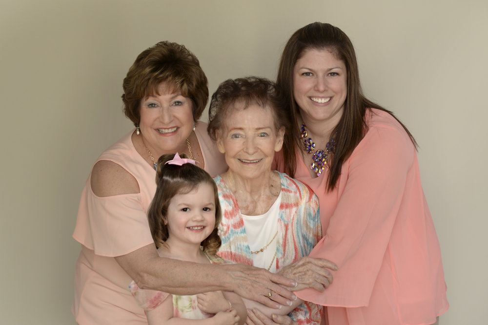 Generations Sessions! In studio or outdoor, these once in a lifetime moments are too precious to let slip away!