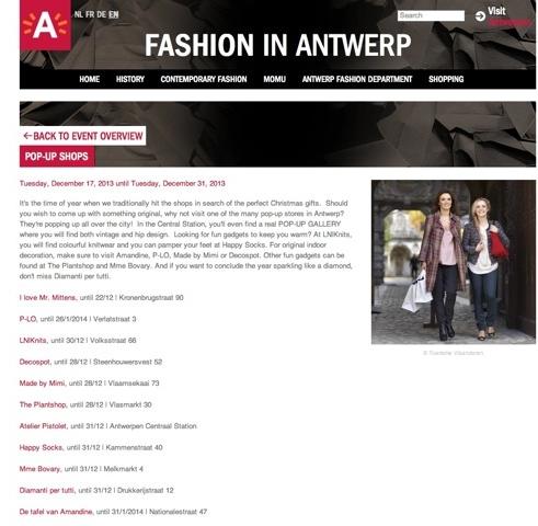 Fashion in Antwerp - Stad Antwerpen