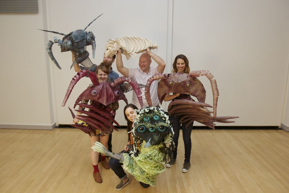 Puppet creatures of the Cambrian Ocean!