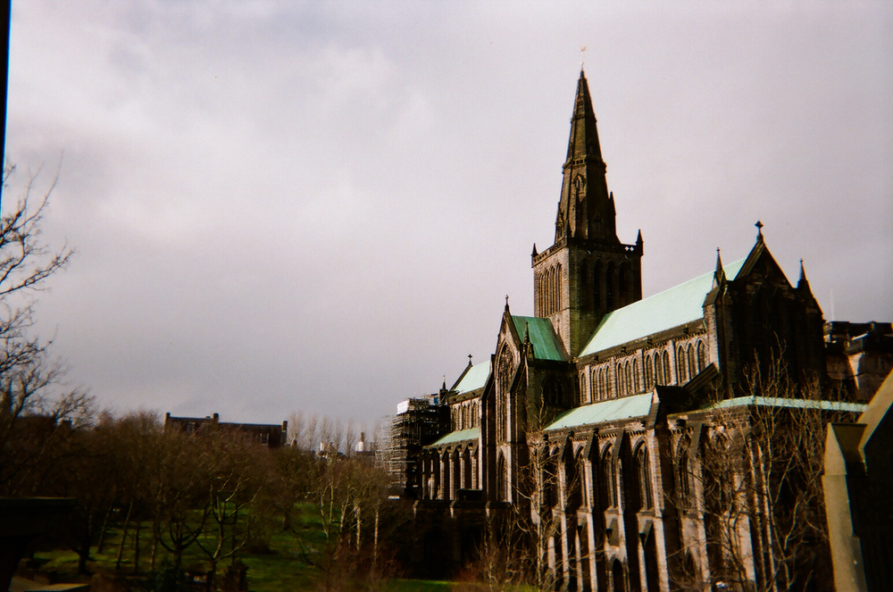 Glasgow Cathedral from the Necropolis
