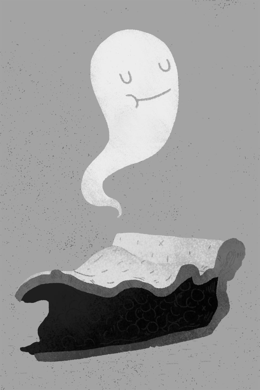 """""""Ghosts & Pie"""" Digital"""