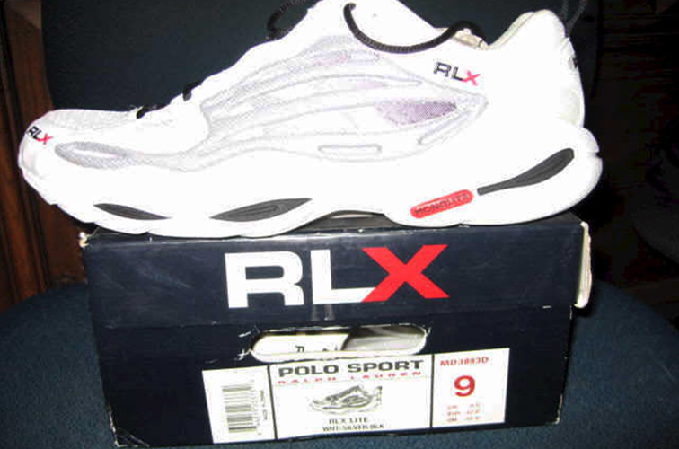 WHITE RLX LITE MEN'S ONE OF A KIND RACING SHOES  COLOR: WHITE SIZE: 9  Please submit the order form below to purchase item.