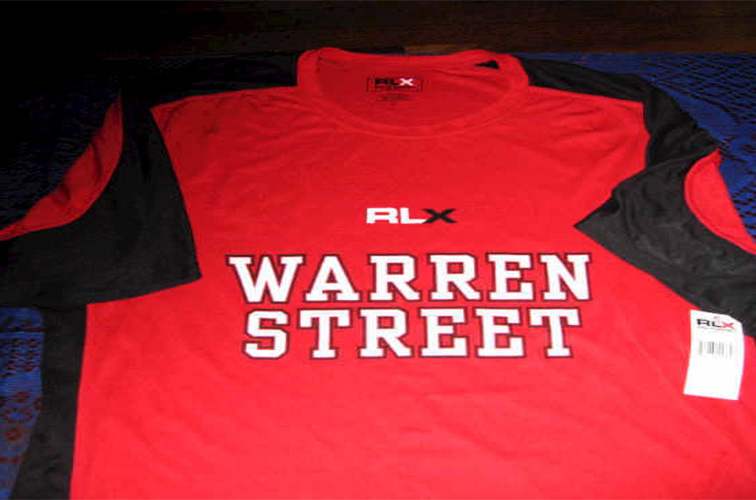 TSHIRT RLX GRAPHIC POLYESTER  COLOR: RED/BLACK  SIZE: L  Please submit the order form below to purchase item.