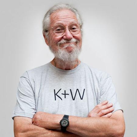 david kennedy models the shirt