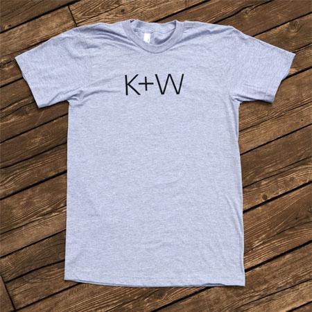 k+w shirt