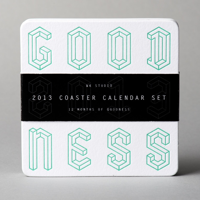 2013 coaster calendar set (I admit, I didn't do this part. Paul Levy did.)