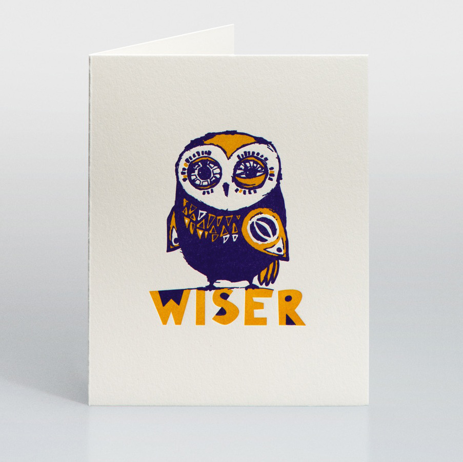 meet owl. today is his birthday. he may or may not be drunk, but he is definitely wiser.