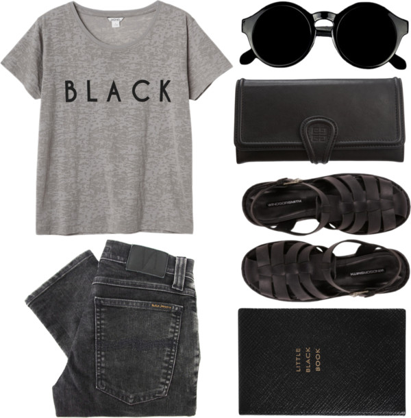 thepolyvorecollection :        black  by  admir-ing  featuring  givenchy