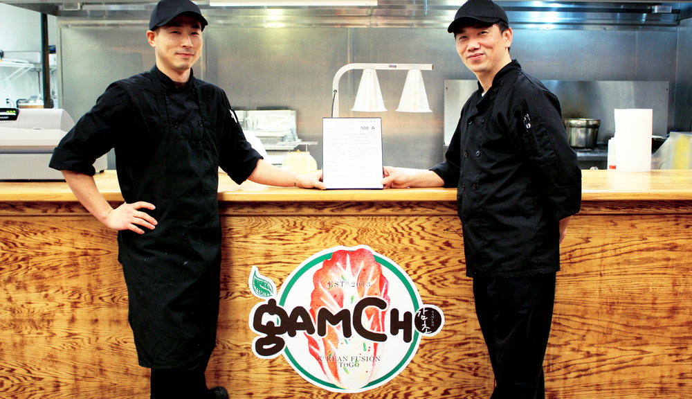Sand (left) & Richard (right): co-founders of Gamcho