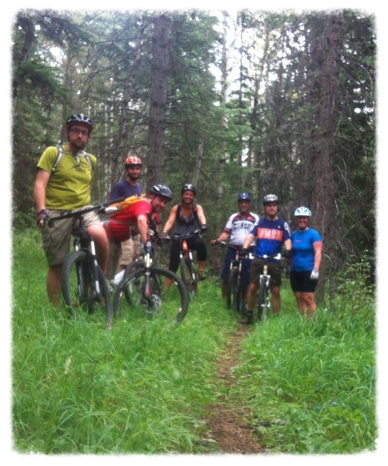 Wednesday Group Ride on Bubba's, Summer 2014