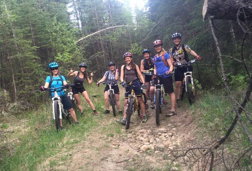 May 25, 2015 - Monday Ladies Ride, group 1 of 3!