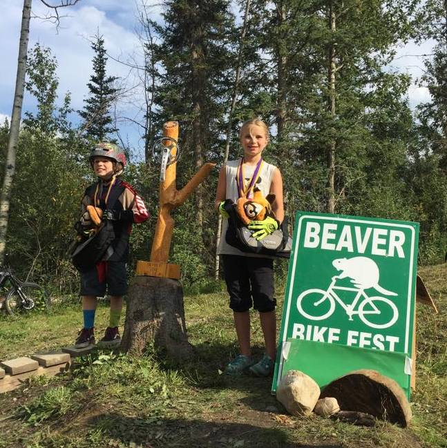 Everett and Kira won the Overall Beaver awards for male and female categories respectively.