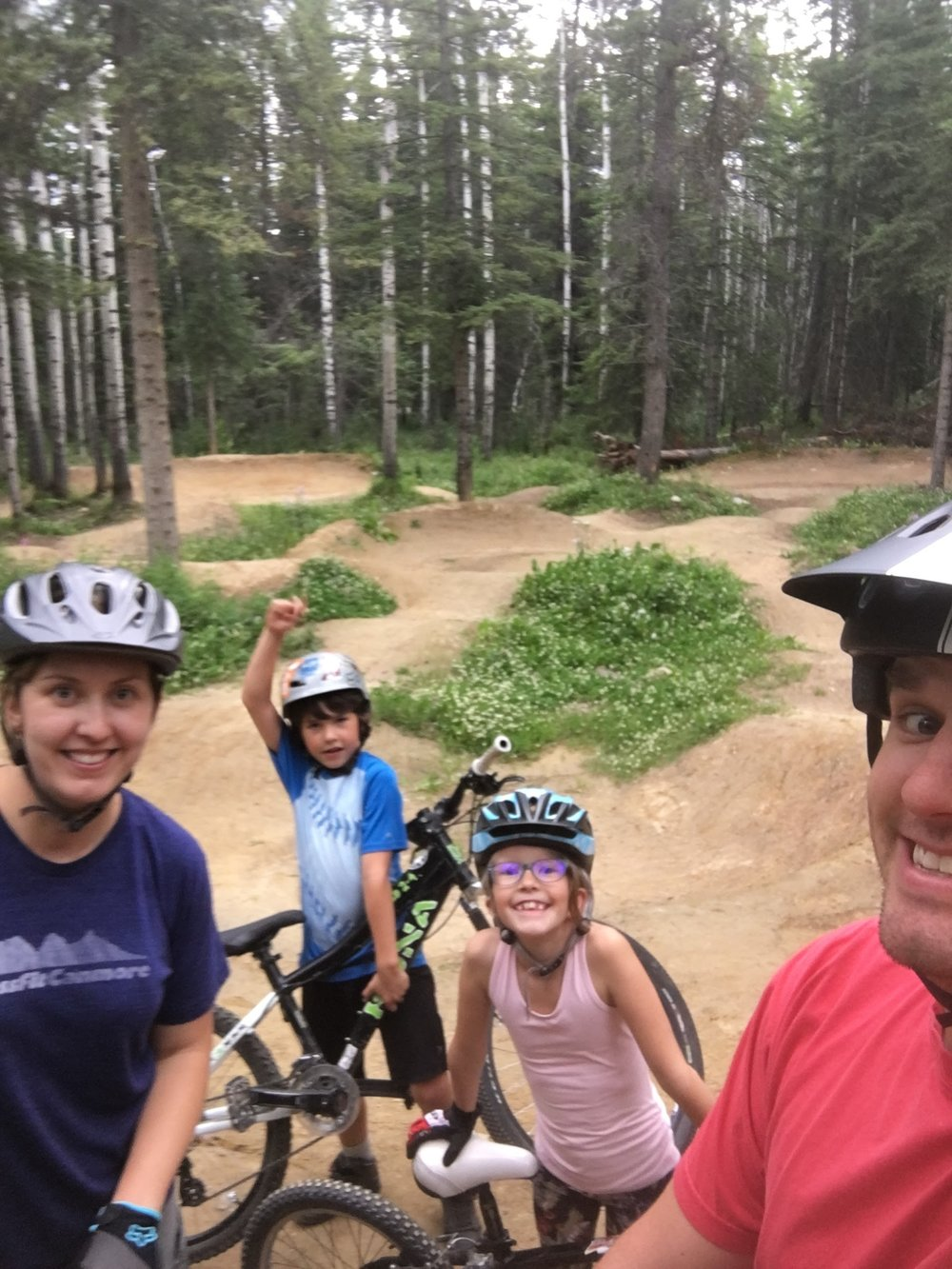 Family time at the bike park