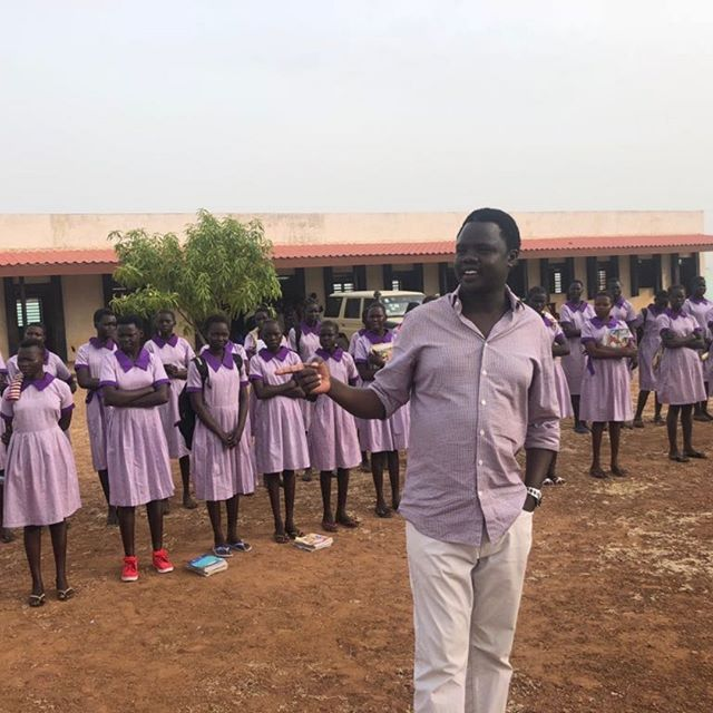 Valentino and the students at Alok Girls' Academy wish you a great holiday season! It is thanks to your support that we were able to open this extraordinary girls' school this year. If you haven't yet, please donate and help is expand in 2019! Thank you! www.vadfoundation.org