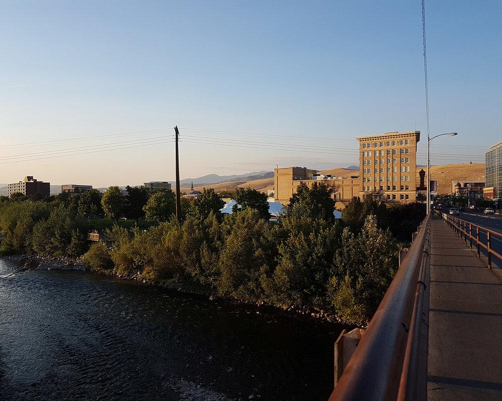Downtown Missoula.